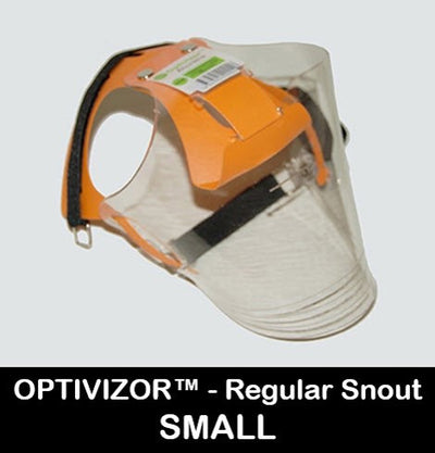 Optivizor Size Small - Regular Snout Version - Protective Pet Solutions