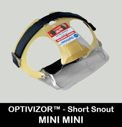 OptiVizor UV Eye and Face Protection for Dogs and Cats