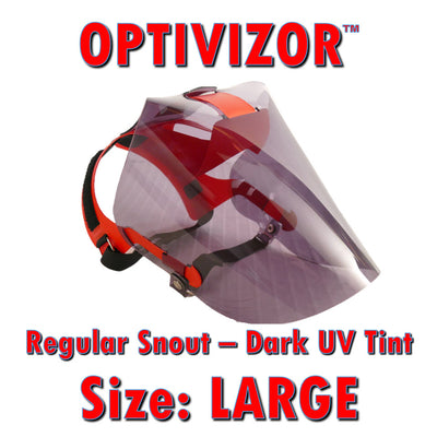 OptiVizor - Regular Snout - Dark UV Tint
