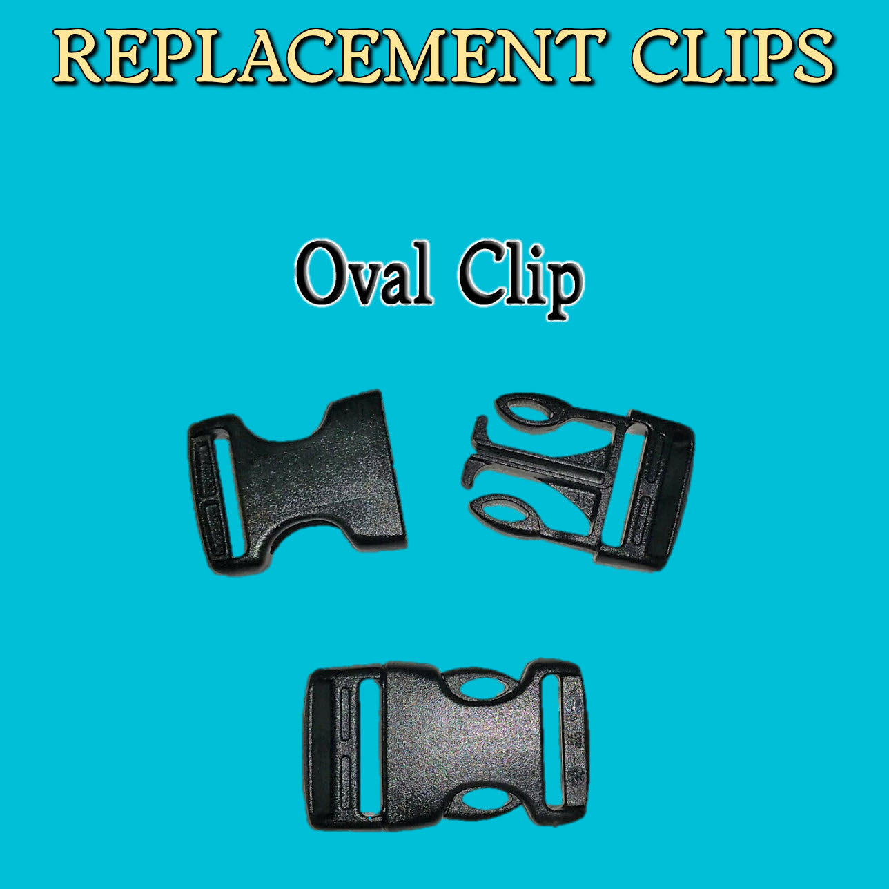 Replacement Clip for Recovery Vizor or some EquiVizor Fly Masks