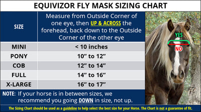 EquiVizor UV Fly Mask - Standard - Original Version