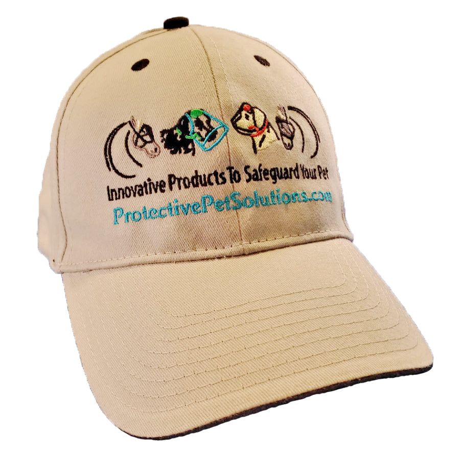 Protective Pet Solutions Embroidered Baseball Hat