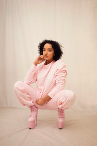 Grown Baby Sweatsuit - pink