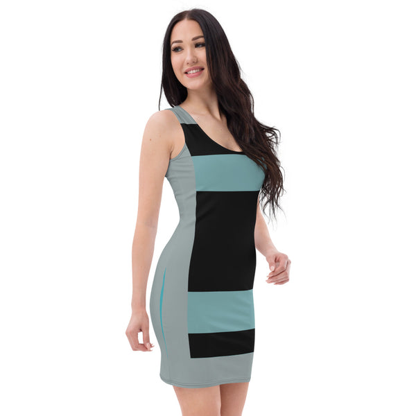 Go Metric Pencil Dress