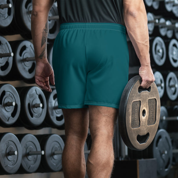 Lite Work Green Athletic Long Shorts