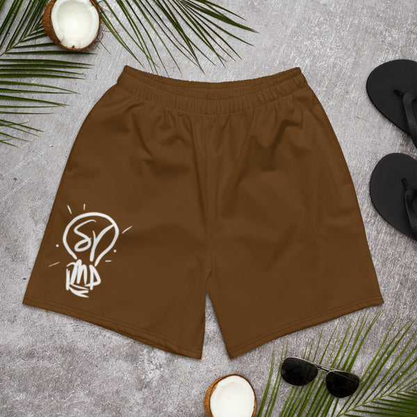 Brown is Beautiful Athletic Long Shorts
