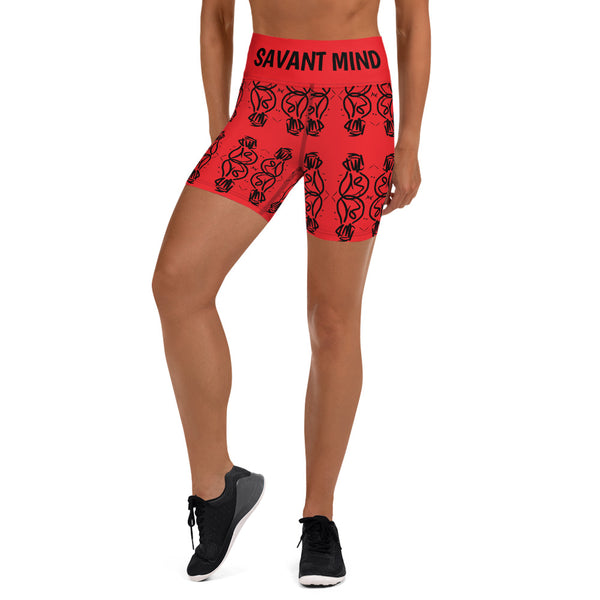 Savant Mind Yoga Shorts