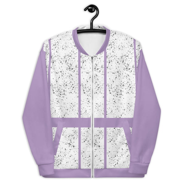 Ladies Lavender Bomber Jacket