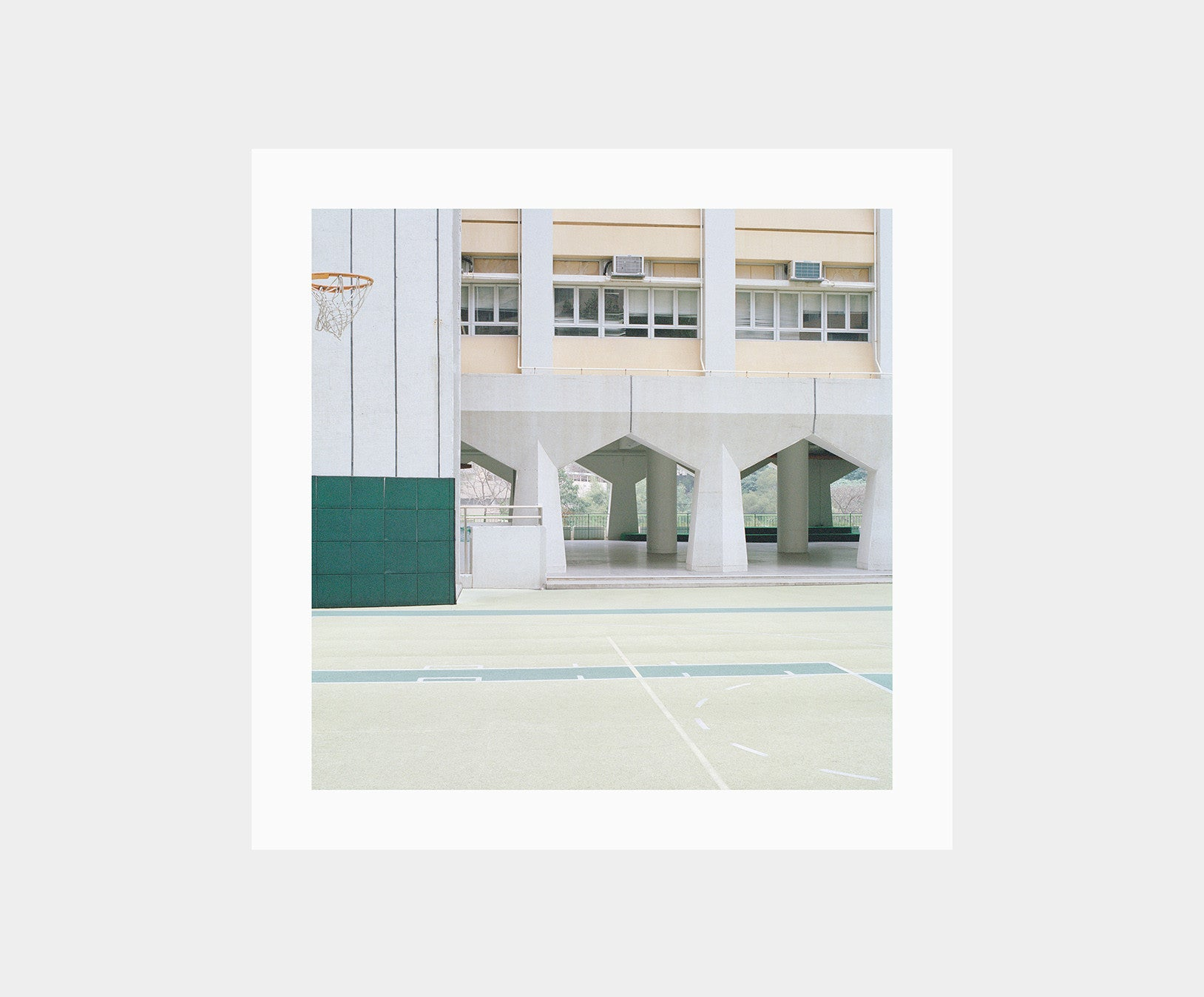 Courts 02 by Ward Roberts – Print 01 (Edition of 200)