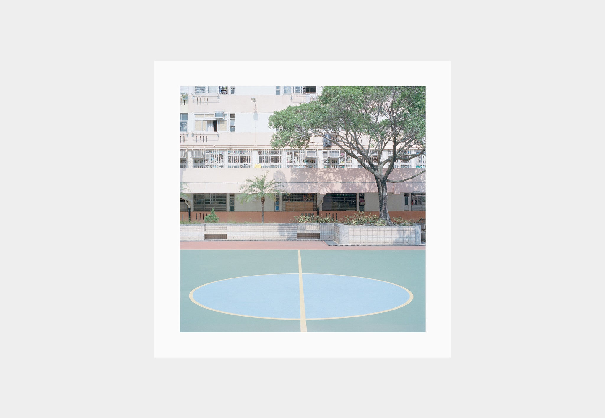 Courts 02 by Ward Roberts – Print 02 (Edition of 200)