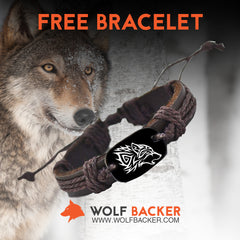 NEWEST Wolf Head Unisex Bracelet!