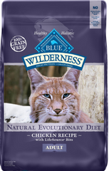 Blue Buffalo Wilderness Chicken Recipe Grain-Free Dry Cat Food