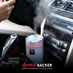 AROMATHERAPY OIL CAR DIFFUSER