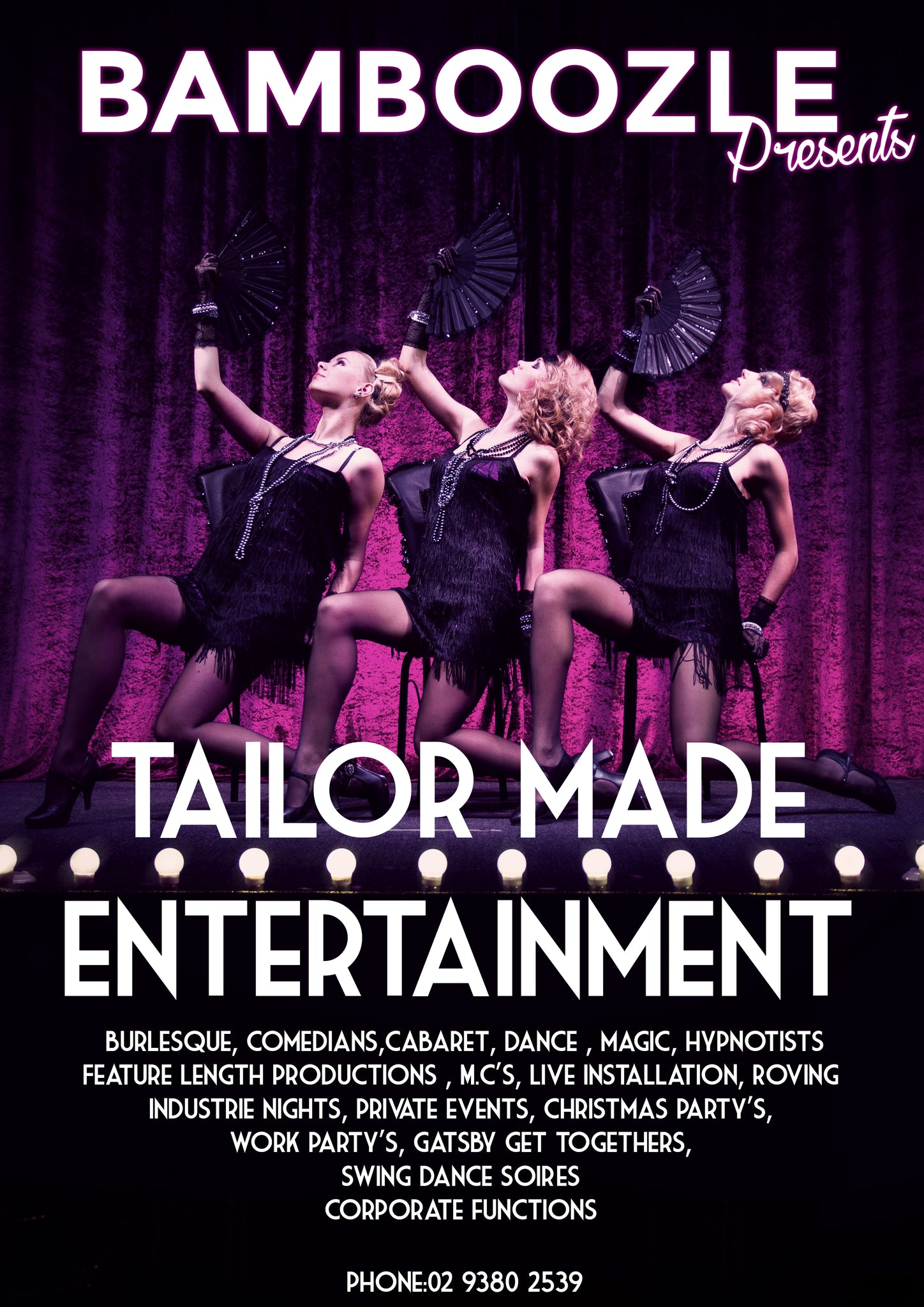 Tailor Made Custom Corporate Entertainment