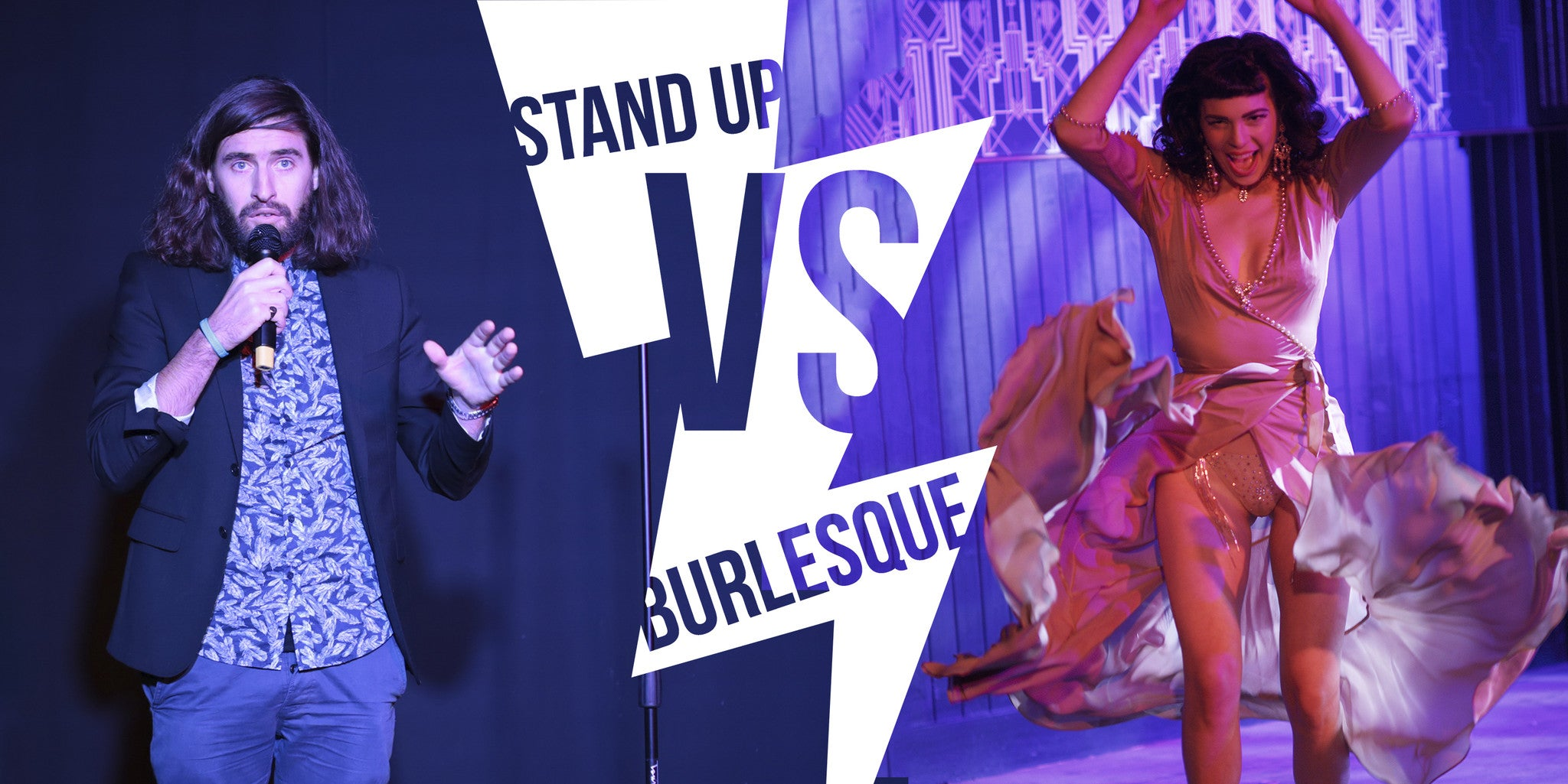 stand Up comedy verse Burlesque for Talk and Tease at the Bamboozle Room Sydney