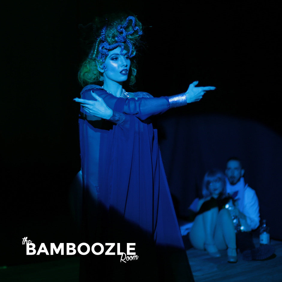 burlesque sea witch at the Bamboozle Room in Sydney