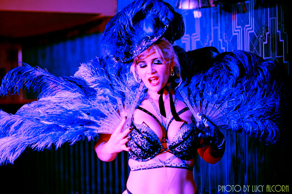 POSTPONED - Friday 10th April - Comedy Burlesque Talk and Tease - Dinner & Show - Tickets - Burlesque Sydney- The Bamboozle Room