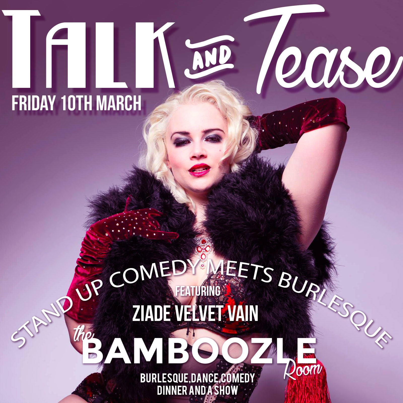 Talk and Tease // One Year Anniversary Special - Tickets - Burlesque Sydney- The Bamboozle Room