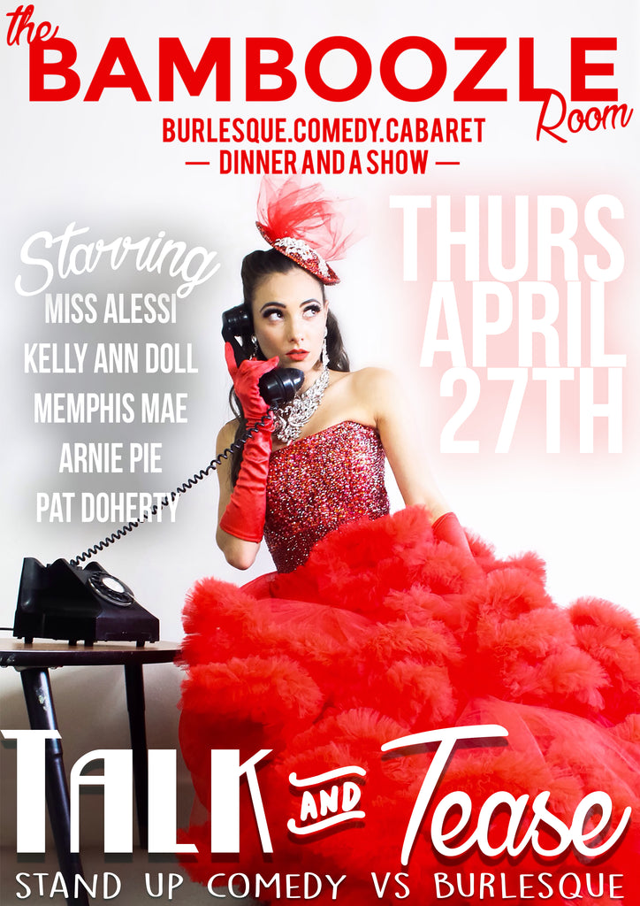 Talk and Tease - Autumn Special - Tickets - Burlesque Sydney- The Bamboozle Room