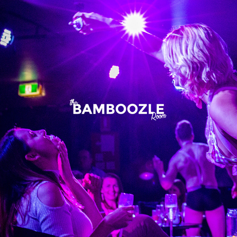 Burlesque dinner and a show at the Bamboozle Room in sydney