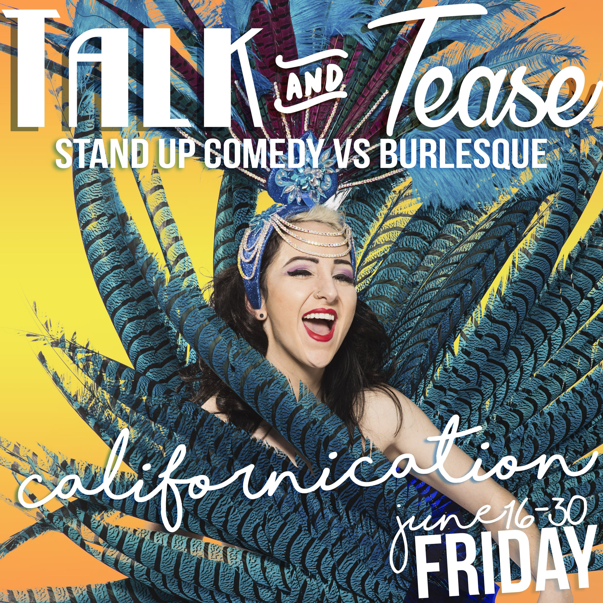 FRIDAY June 23rd Talk and Tease Californication - Tickets - Burlesque Sydney- The Bamboozle Room