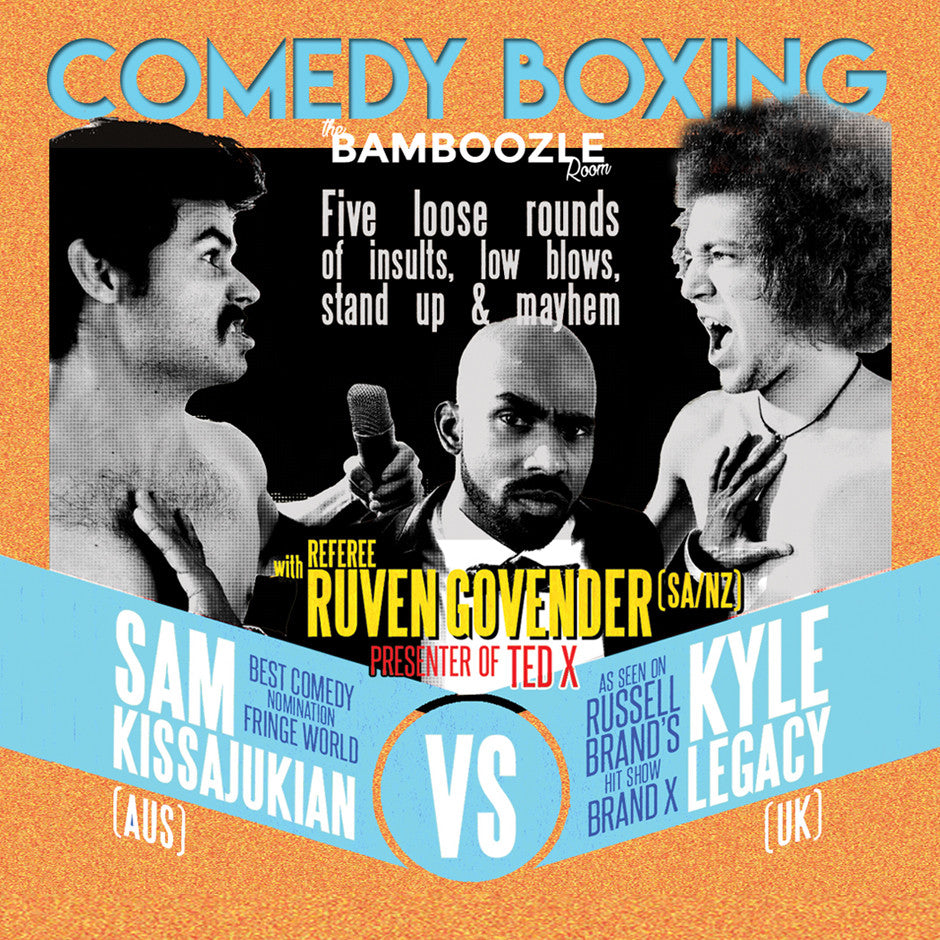 COMEDY BOXING - Tickets - Burlesque Sydney- The Bamboozle Room