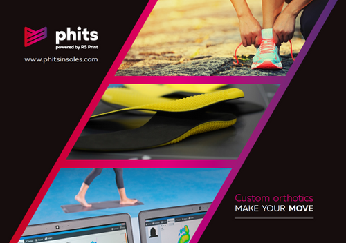 Phits 3D-Printed Insole (Scan + Insole)