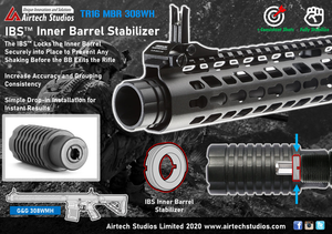 G&G TR16 MBR 308WH IBS™ Inner Barrel Stabilizer (Pre-order Available Now!)