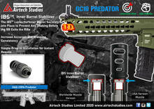 Load image into Gallery viewer, G&G CM16 GC16 Predator IBS™ Inner Barrel Stabilizer