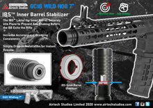 "Load image into Gallery viewer, G&G CM16 Wildhog 7"" IBS™ Inner Barrel Stabilizer"