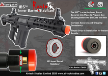 Load image into Gallery viewer, KWA Ronin 6 PDW & TK45 IBS™ Inner Barrel Stabilizer