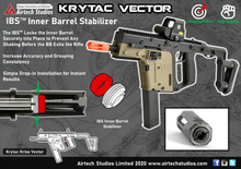 Load image into Gallery viewer, Krytac Kriss Vector IBS™ Inner Barrel Stabilizer