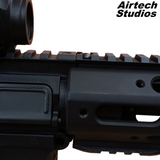 AM-013 Full Length Accessory Rail - Matt Black