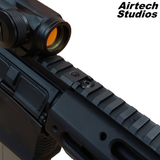 AM-013 & AM-014 Accessory Rail - Matt Black