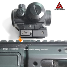 Load image into Gallery viewer, AM-013 Full Length Accessory Rail - Dark Earth