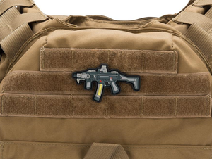 Scorpion Evo Morale Patch (Velcro back)