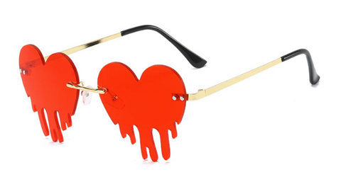 Melting Heart Glasses