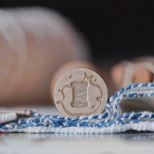 mossland Living inspired Wax Seal - A spool of thread