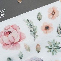MU Print-On Sticker - Botanical Series