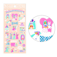 Fairy Tale Birthday Stickers