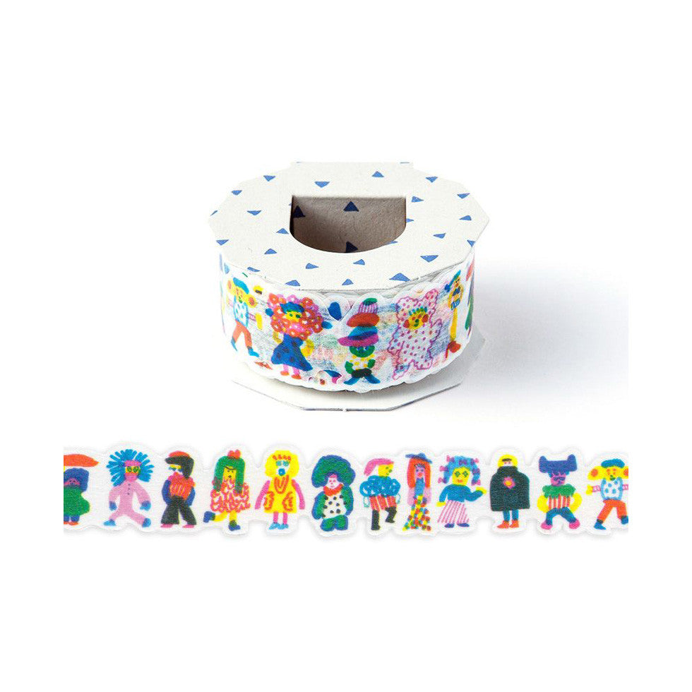 [Discontinued Item] AIUEO Fashion Monster Washi Tape