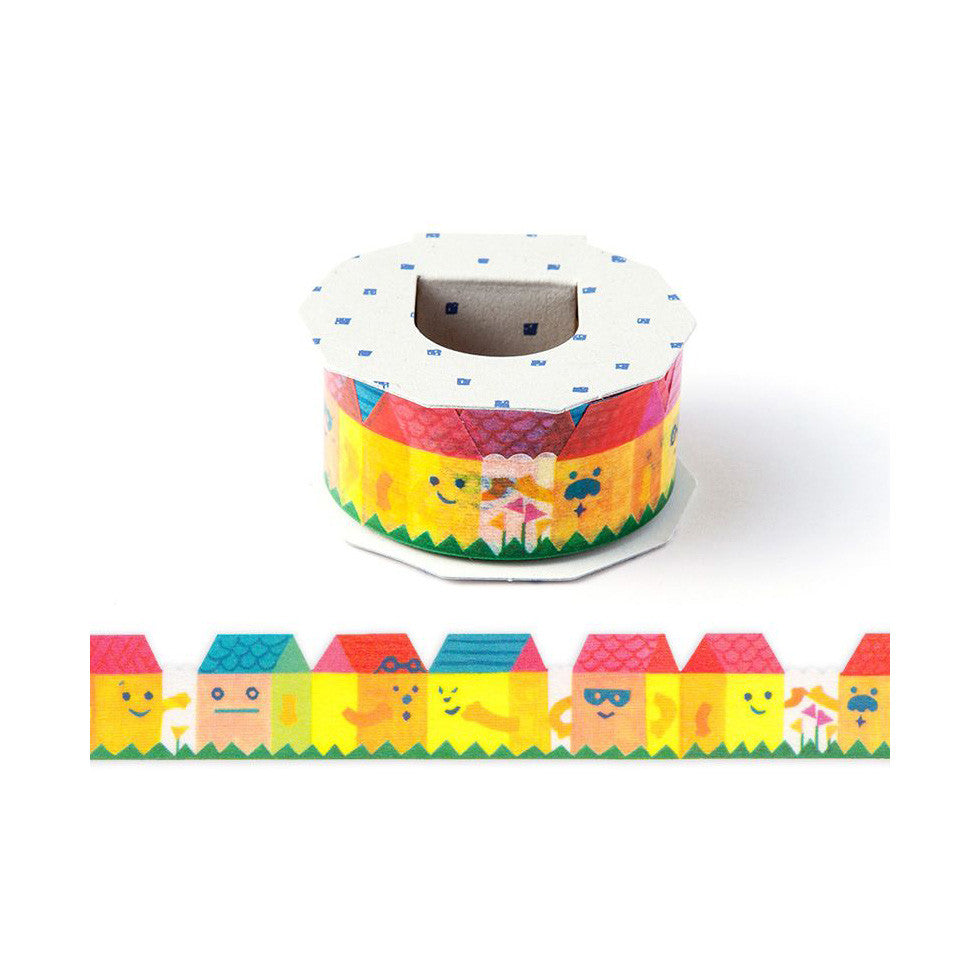 AIUEO Houses Washi Tapes