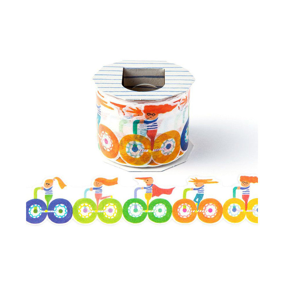 AIUEO Cycling Washi Tape (L)