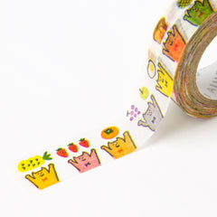 [Discontinued Item] AIUEO Let's eat breakfast Washi Tape