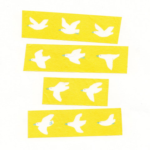 AIUEO Washi Tapes - Bird Ye