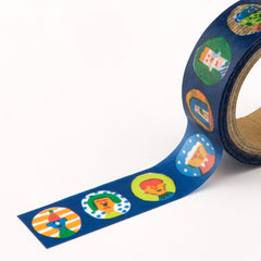 AIUEO Washi Tapes - marumado night