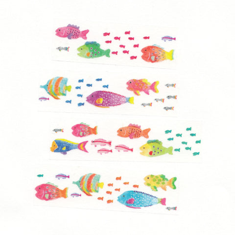 AIUEO Washi Tapes - s fish
