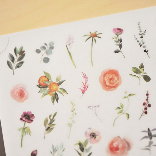 MU Print-On Sticker - Botanical Series V