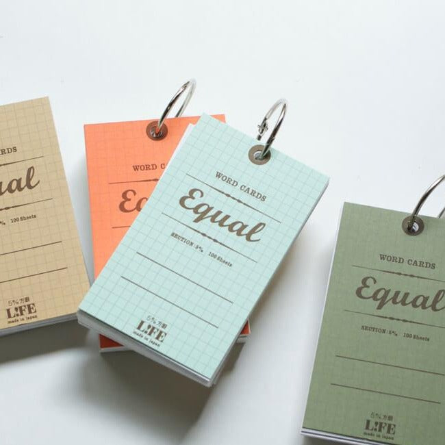 LIFE Equal Index Cards