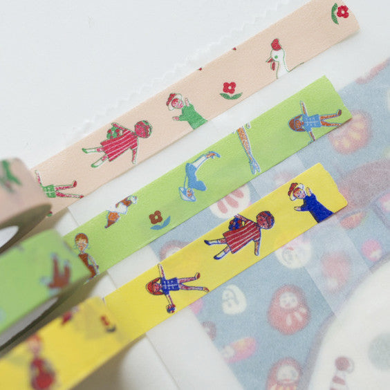 Classiky x Yonagadou Ms. Fashionista Washi Tape